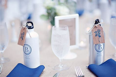 Wedding Favors Water Bottles by Wedding Guest Favors For Active Adventerous Couples Custom