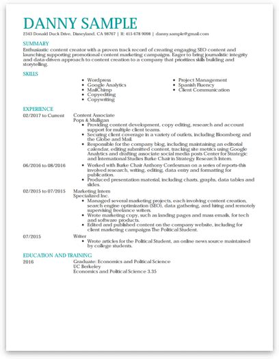 most widely accepted resume format how to write a resume that beats the competition resume now