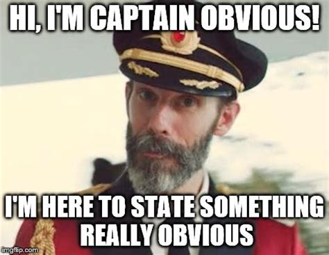 Captain Obvious Meme - berkeley heights public library book blog captain obvious
