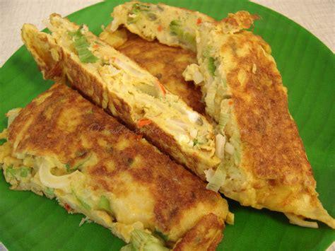 membuat omelet yang mudah image gallery telur goreng