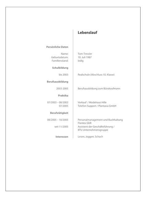 Lebenslauf Vorlagen Zum Ausdrucken Bewerbung Kostenlose Vorlage Deckblatt