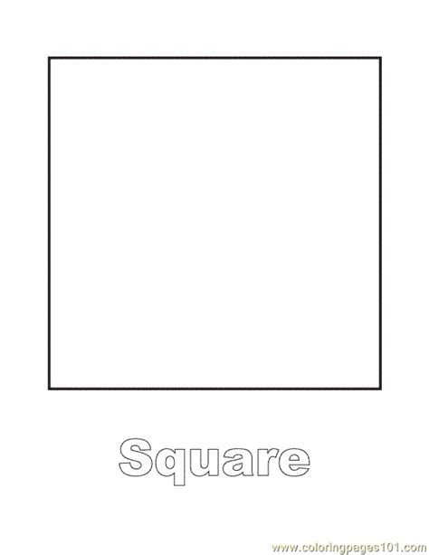 printable square shapes free coloring pages of shape bingo