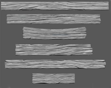 zbrush wood tutorial image result for zbrush wood plank sculpt textures