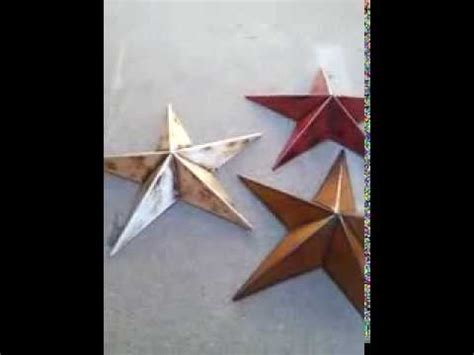 country star home decor 12 inch rustic metal brown barn star country rustic