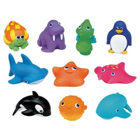 bathroom toys buy munchkin 10 squirtin sea buddies bath toy from our