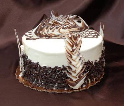 how to decorate chocolate cake at home white chocolate truffle desserts pinterest