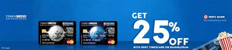 bookmyshow offers vizag hdfc bank times card offer