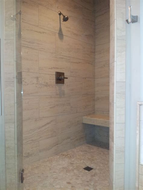 installing bathroom tile shower chattanooga tile installation repair complete flooring