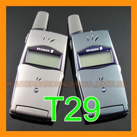 aliexpress english only original 2g gsm 900 1800 unlocked ericsson t29 cellphone
