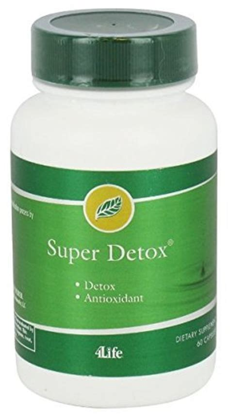 4life Detox by Detox By 4life 60 Capsules Dietary Supplements