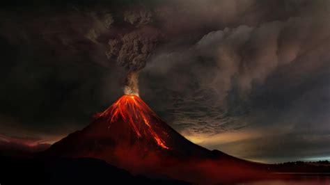 volcanic eruption hd wallpaper wallpaper studio