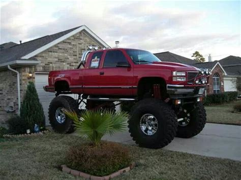 Big Lifted Jeeps Lifted Truck Big Tires Out Trucks