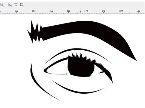 tutorial membuat line art vector ide remaja cara membuat vector line art menggunakan coreldraw