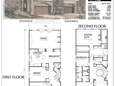lake house floor plans narrow lot best narrow lot house plans narrow lot lake house floor