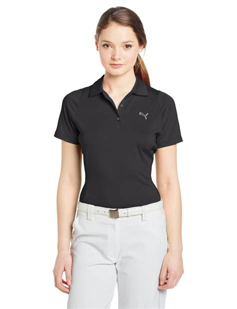 swing golf apparel puma womens na duo swing golf polo shirts