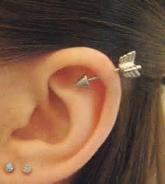 earring helix 16 arrow helix piercing earring stud post arrowhead