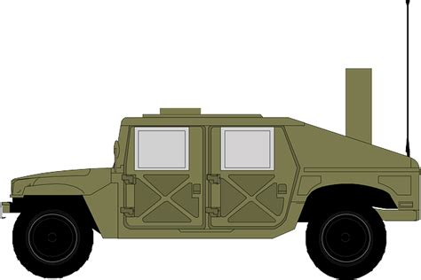 military jeep png free vector graphic jeep hammer military green free