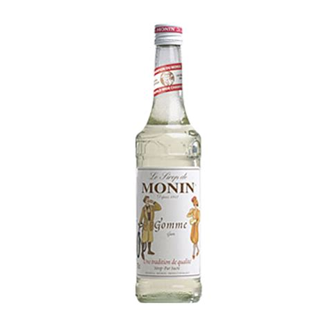 monin gomme sugar syrup 70cl the cocktail store