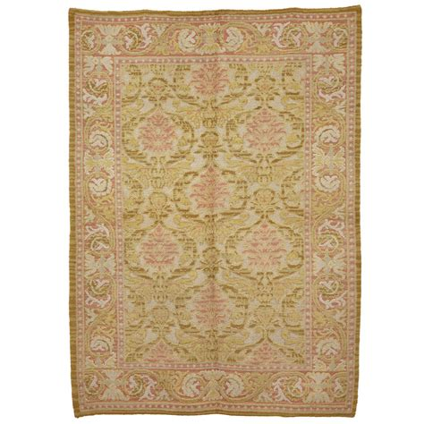 Renaissance Rugs by Cuenca Rug With Renaissance Palmette Design For Sale At