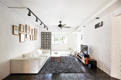 home lighting design in singapore 9 chic homes with white brick walls home decor singapore