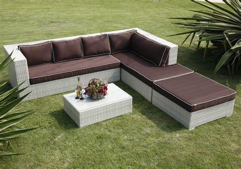 tillary outdoor sofa corner wicker patio furniture sets clearance
