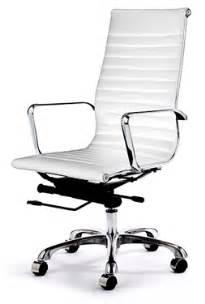 Retro White Chair Retro Eames Style Office Chair White