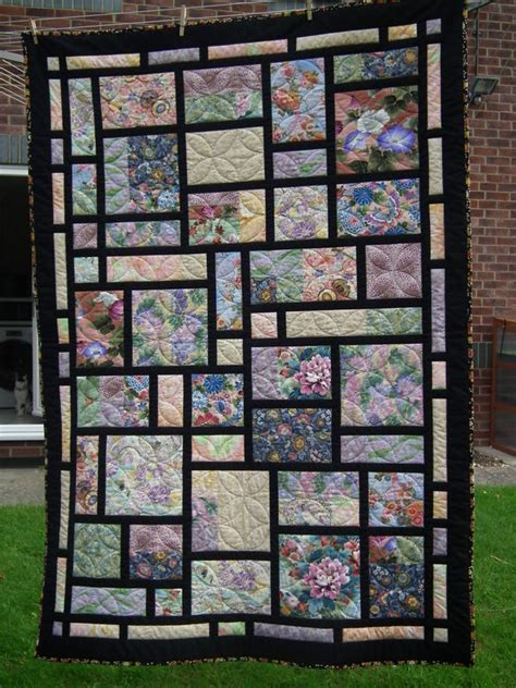 County Lines Quilt Pattern by Quilt Using Florals