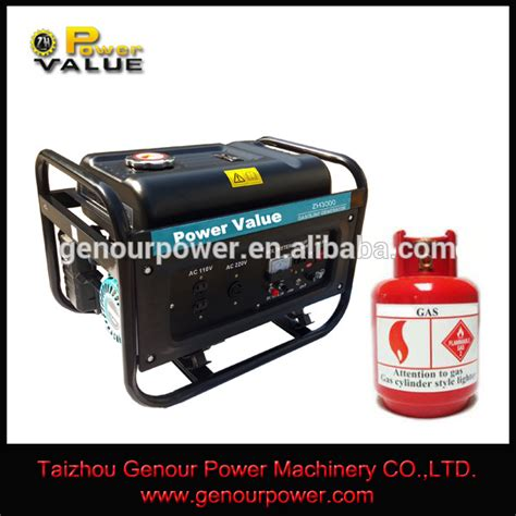 1kw to 6kw small gas lpg generator price in india