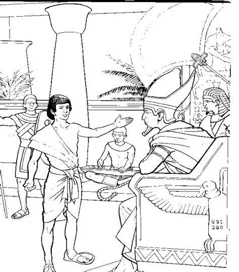 coloring page of joseph and potiphar joseph and pharaoh colouring page coloring page of
