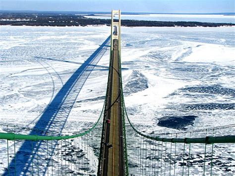 Open Section 8 In Michigan by Investigation Remains Open Following Mackinac Bridge Jump