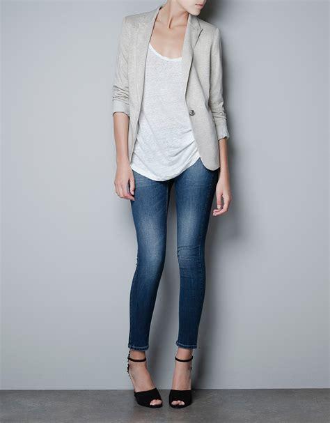 Blazer Zara Zara Blazer In Lyst