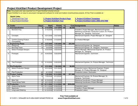 project template excel construction scope of work template excel