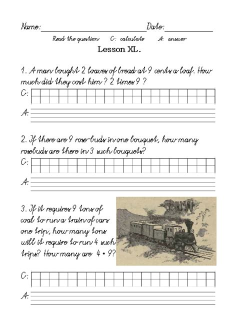 Xl Worksheets by The Grammar Of Math Lessons In Arithmetic Lesson