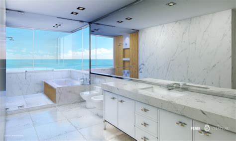 bathroom supplies miami 25 million penthouse in fendi branded miami residence