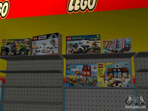 mod game store the lego shop for gta san andreas