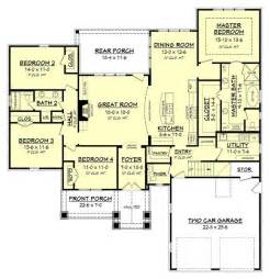 house plans with large bedrooms oak harbor house plan house plan zone