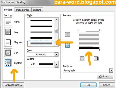 cara membuat kop surat otomatis di word cara membuat kop surat di word cara word