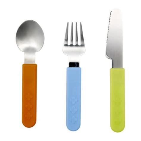 Childrens Kitchen Knives Smaska 3 Cutlery Set Ikea