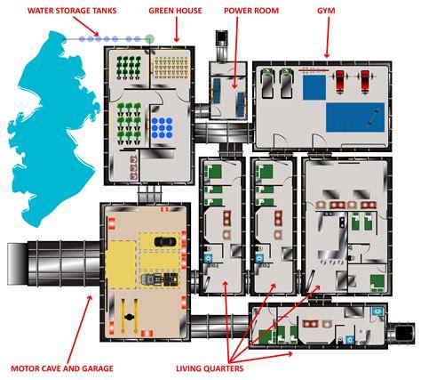 underground bunker floor plans underground bunkers rising s bunkers