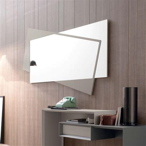 specchi arredamento moderno specchio da parete moderno in mdf laccato opaco holden