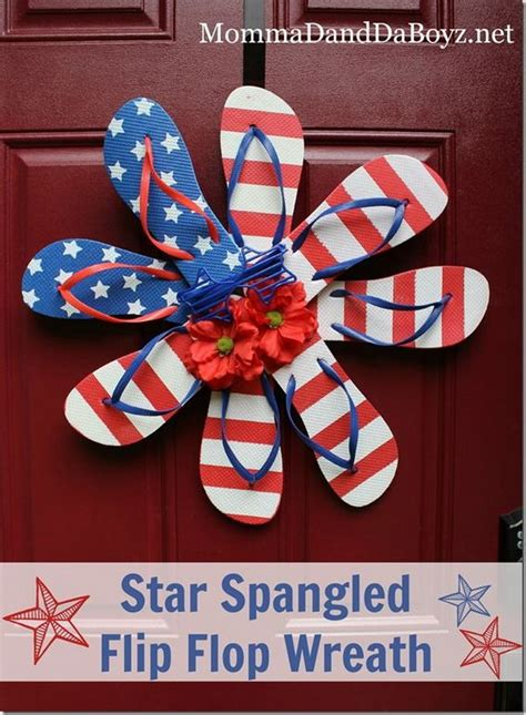 patriotic decorating ideas display your stars and stripes diy patriotic wreath ideas for 4th of july or memorial day