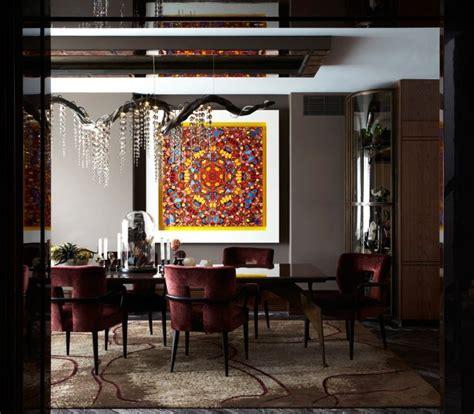 Tableau Salle à Manger 2655 by Salle 224 Manger Contemporaine Et D 233 Co Aux Accents Fonc 233 S
