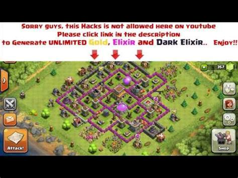 tutorial hack clash of clans 2015 tutorial clash of clans hack unlimited gems 1 april