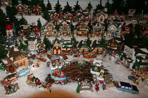 home design image ideas lighted village display ideas