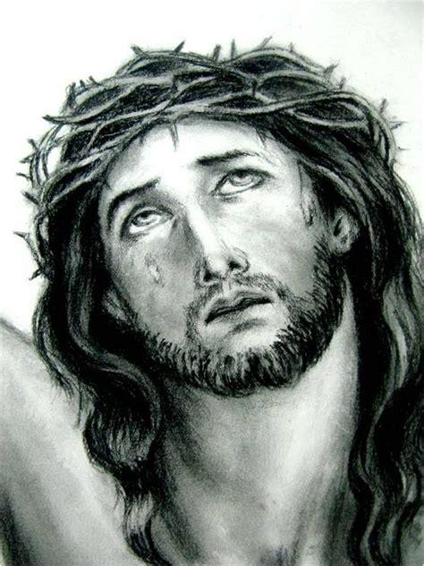 imagenes del rostro de jesus a blanco y negro clases de dibujo art 237 stico rostro de cristo youtube