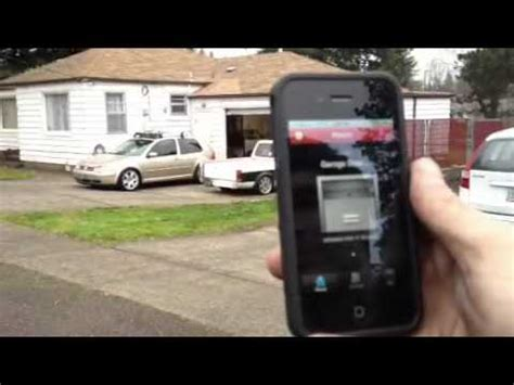 Craftsman Iphone Garage Door Opener Youtube Garage Door From Iphone