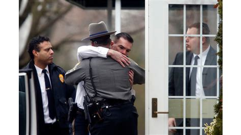 Comfort Officer by Newtown Conn Officers Work To Cope With Tragedy
