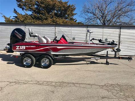 boats for sale in wichita falls texas 2018 nitro z18 wichita falls texas larry s marine center
