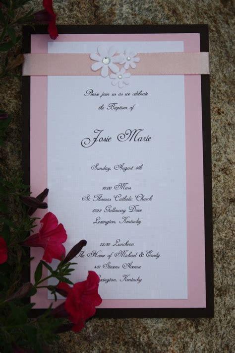 Handmade Baby Invitations - best 25 invitations ideas on