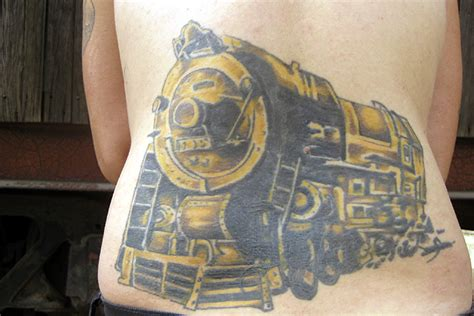 rr tattoo railroad tattoos part 1